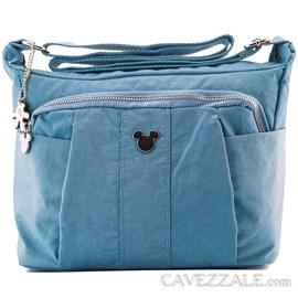 Bolsa Feminina Mickey Mouse Azul 0100870
