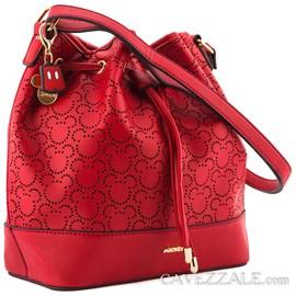 Bolsa Saco Mickey Mouse Vermelho 0100867