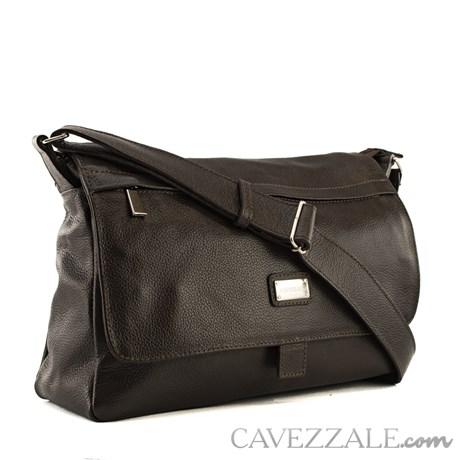Bolsa Satchel Feminina Couro Cavezzale Café 018168