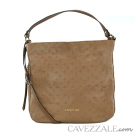 Bolsa Shopping Bag de Couro Feminina Cavezzale Monograma Arabica 102570
