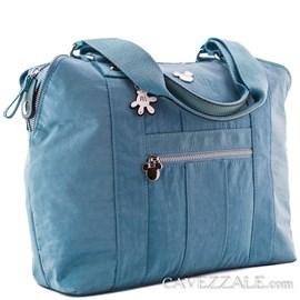 Bolsa Shopping Bag Feminina Mickey Mouse Azul 0100872