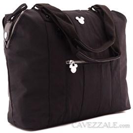 Bolsa Shopping Bag Feminina Mickey Mouse Preto 0100872