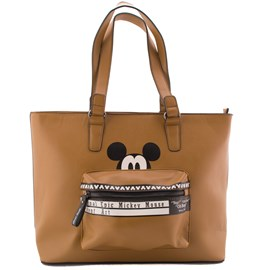 Bolsa Shopping Bag Mickey Mouse Caramelo 0100104
