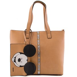 Bolsa Shopping Bag Mickey Mouse Nude 0100073