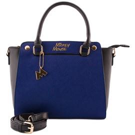 Bolsa Sintético Mickey Mouse Azul 0100077