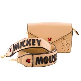 Bolsa Sintético Mickey Mouse Bege 0100081