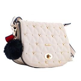 Bolsa Sintético Mickey Mouse Branco 0100348