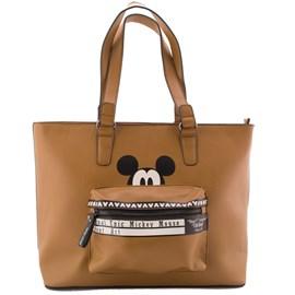 Bolsa Sintético Mickey Mouse Caramelo 0100104