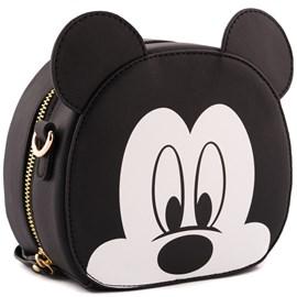 Bolsa Sintético Mickey Mouse Preto 0100079
