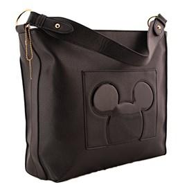Bolsa Sintético Mickey Mouse Preto 0100352