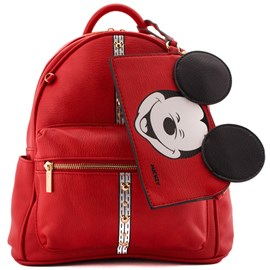 Bolsa Sintético Mickey Mouse Vermelho 0100072