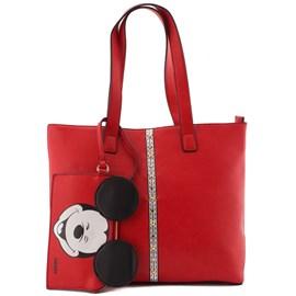 Bolsa Sintético Mickey Mouse Vermelho 0100073