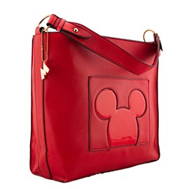 0b57f9b152 Bolsa Sintético Mickey Mouse Vermelho 0100352 ...