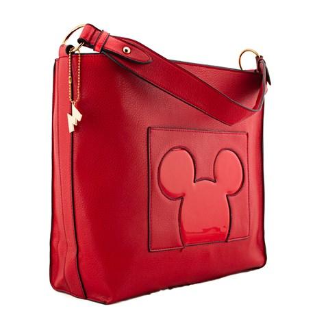 Bolsa Sintético Mickey Mouse Vermelho 0100352