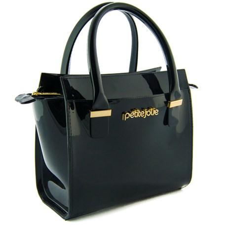 Bolsa Sintético Petite Jolie Off Black 099706