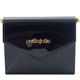 Bolsa Sintético Petite Jolie Off Black 099731