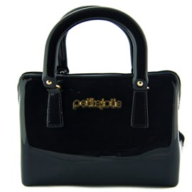 Bolsa Sintético Petite Jolie Off Black 099733