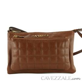 Bolsa Tiracolo de Couro Cavezzale Castor 102297