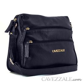 Bolsa Tiracolo de Couro Feminina Cavezzale Azul 099607