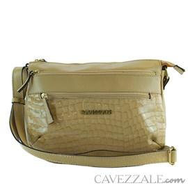 Bolsa Tiracolo de Couro Feminina Cavezzale Palha 0101771