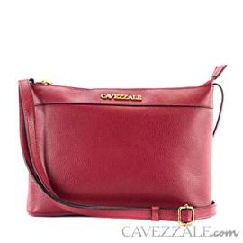 Bolsa Tiracolo de Couro Feminina Cavezzale Scarlet 101568