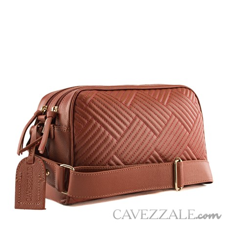 Bolsa Tiracolo de Couro Feminina Cavezzale Telha 101985