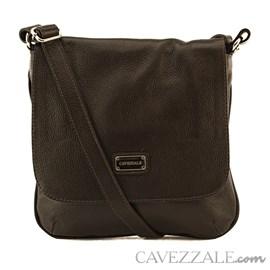 Bolsa Tiracolo Feminina Couro Cavezzale Café 018169