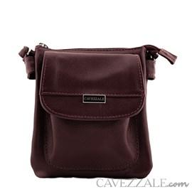 Bolsa Tiracolo Feminina Couro Cavezzale Café 019693