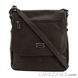 Bolsa Tiracolo Feminina Couro Cavezzale Café 050743