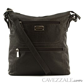 Bolsa Tiracolo Feminina Couro Cavezzale Café 050744