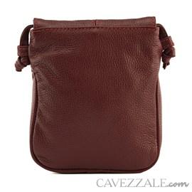 Bolsa Tiracolo Feminina Couro Cavezzale Vermelho 019695