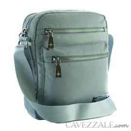Bolsa Tiracolo Feminina de Nylon Cavezzale Verde 101297