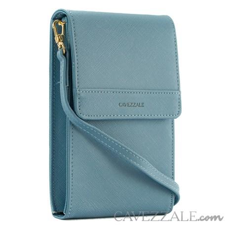 Bolsa Tiracolo Phone Case Cavezzale Azul 101252