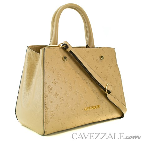 Bolsa Tote Bag Cavezzale Monograma Palha 102144
