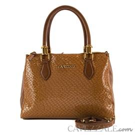 Bolsa Tote Bag de Couro Feminina Cavezzale Caramelo 101620