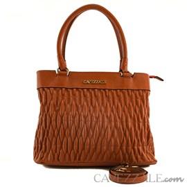 Bolsa Tote Bag de Couro Feminina Cavezzale Floter Ruggine 102001
