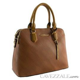 Bolsa Tote Bag Feminina Cavezzale Caramelo 101321
