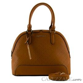 Bolsa Tote Bag Feminina Cavezzale Marrom 101323