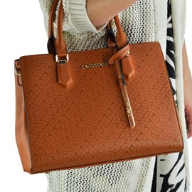 Bolsa Tote Bag Feminina Cavezzale Marrom 101325