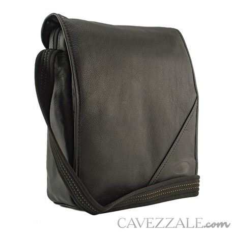 Bolsa Transversal Couro Cavezzale 055233 Preto