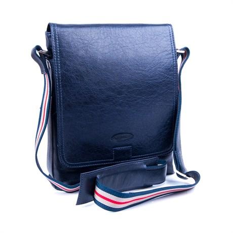 Bolsa Transversal Couro Cavezzale 055986 Azul