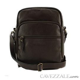 Bolsa Transversal Couro Cavezzale Café 053044