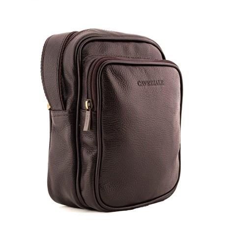 Bolsa Transversal de Couro Cavezzale Café 0100392