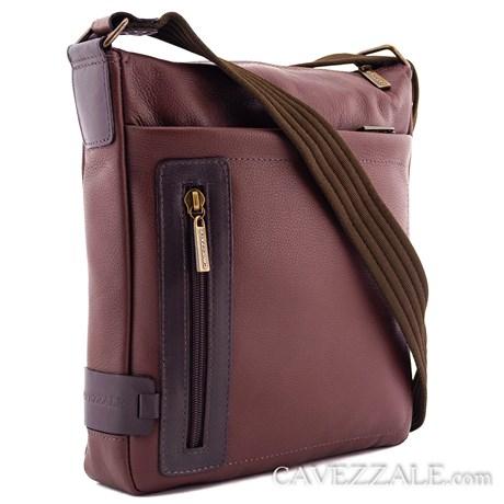 Bolsa Transversal de Couro Cavezzale Conhaque 0101241