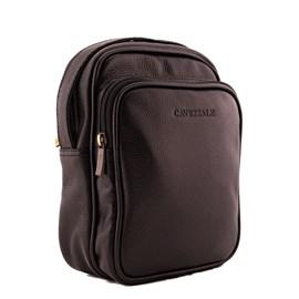 Bolsa Transversal de Couro Cavezzale Preto 0100392