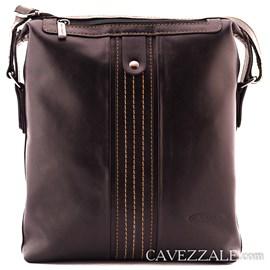 Bolsa Transversal de Couro Cavezzale Preto 0100911