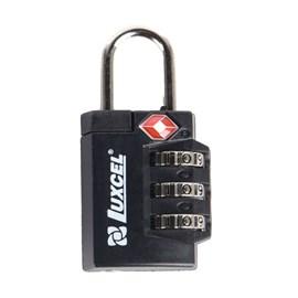 Cadeado Tsa Lock Luxcel Preto 056188