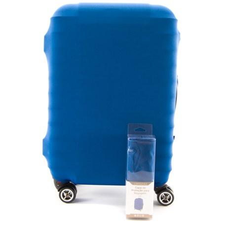 Capa para Mala Grande Cavezzale em Poliéster Azul 099009