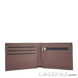 Carteira de Couro Cavezzale Café 100921