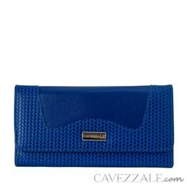 Carteira de Couro Feminina Cavezzale Azul 101712